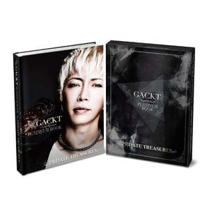 【二次受付】GACKT PLATINUM BOOK ~Private Treasures~