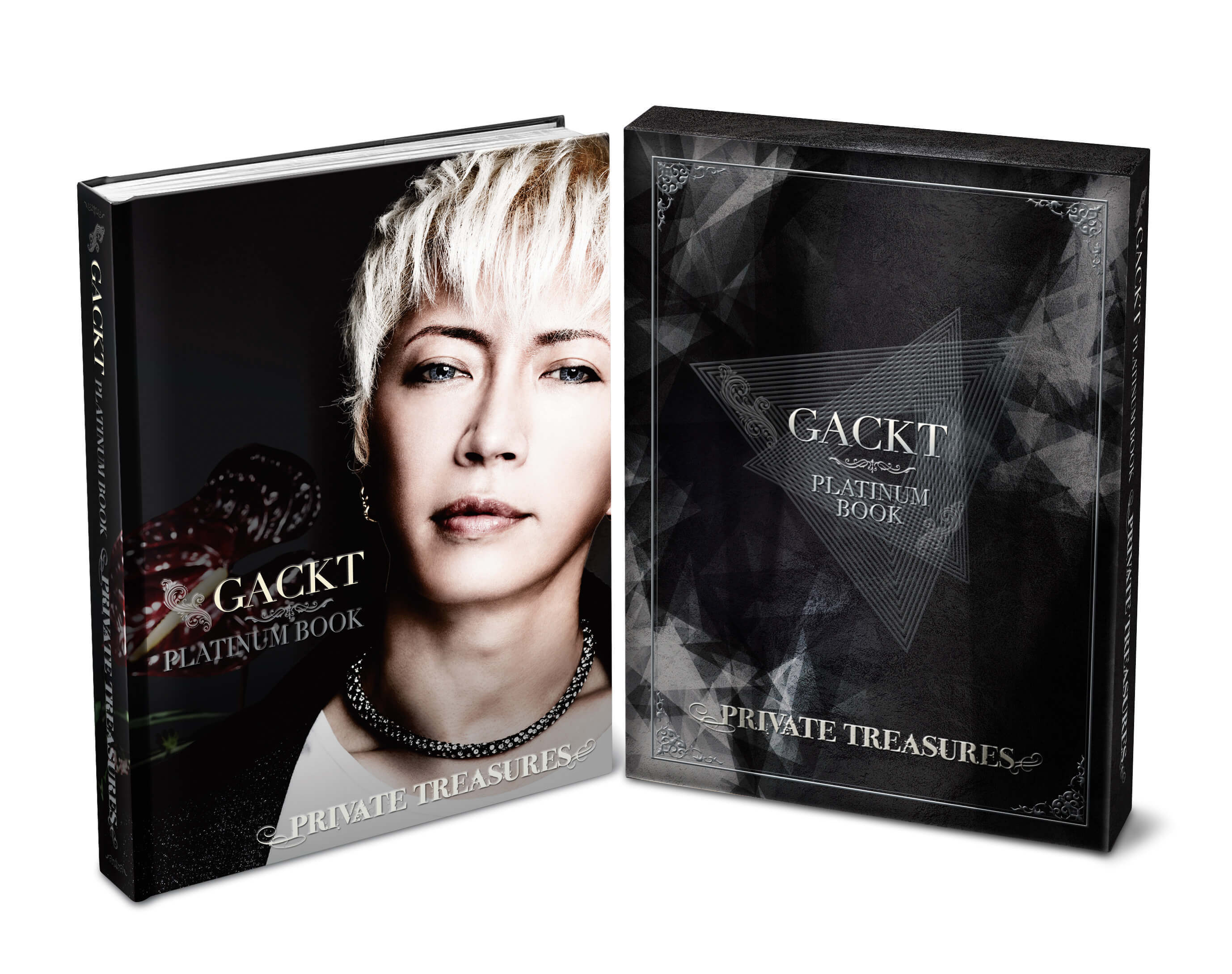 【G&LOVERS限定受付】GACKT PLATINUM BOOK ~PRIVATE TREASURES~