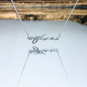 WHITE DAY GOODS「My Lovers」Limited Necklace シルバー