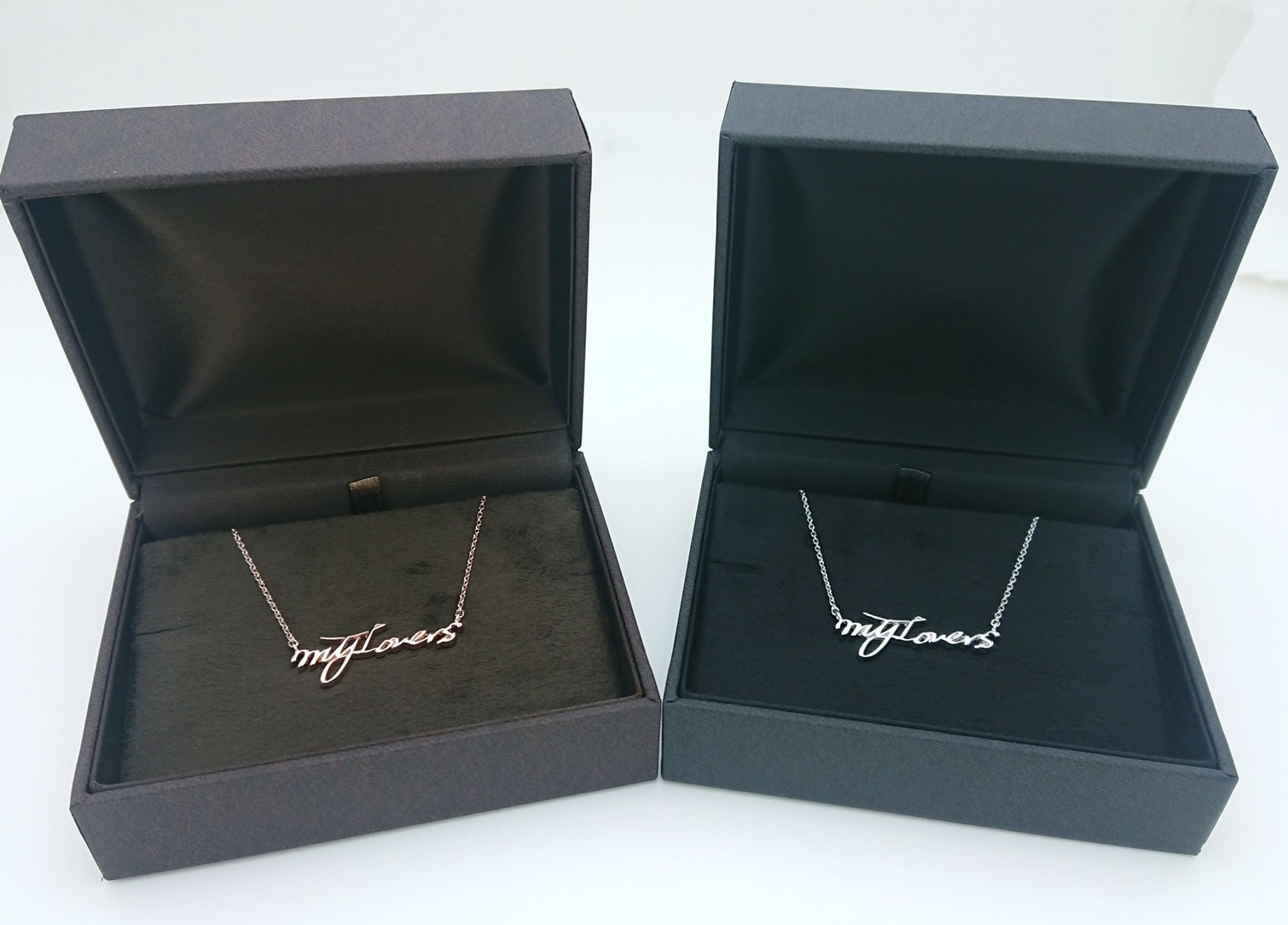 WHITE DAY GOODS「My Lovers」Limited Necklace ピンクゴールド